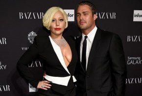 Lady Gaga's relationship with her fiancé allegedly started with a bit of cheating.