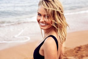 Lara Bingle is very angry at the media's reaction to her son's middle name.