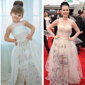 Look out Chanel. This mini designer has some serious skills.