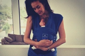 Megan Gale's little boy is sick, and she's taken the alternative path to treat him.