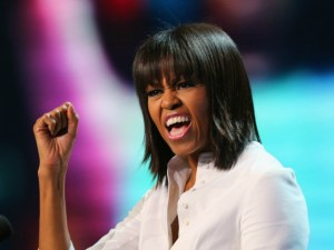Michelle Obama: They wouldn't let me bungee jump so I did this instead