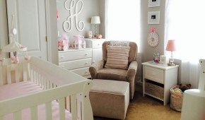 Decorating the perfect nursery for a new baby.