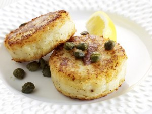 Potato and Parmesan Cakes