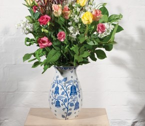 Stylish vases for spring flowers