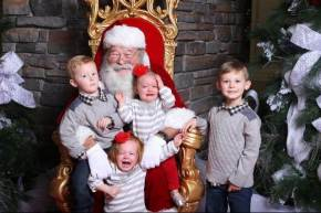 Dear parents, kids hate Santa.