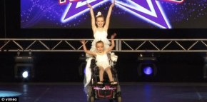 Nothing can stop these sisters in wheelchairs