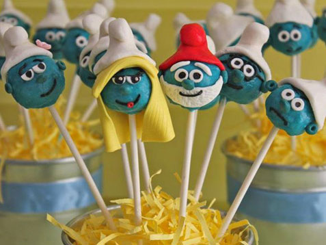 How to: Throw a Smurf-tastic birthday party