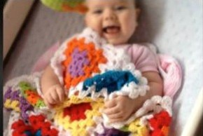 """Making my baby's blanket just might have saved her life."""