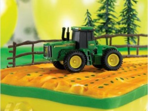 How to make a tractor birthday cake