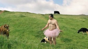 The beautiful reason this man wears a pink tutu