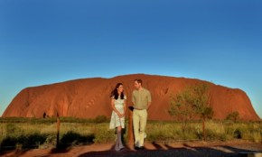 Inside Wills & Kate's luxurious Uluru camp.