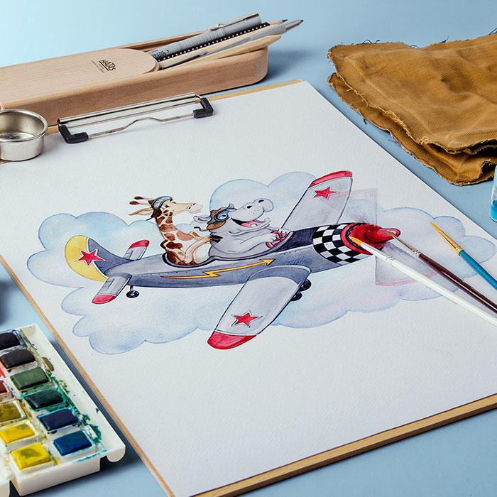 Art-og-flomme-airplane-front