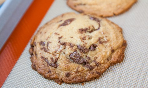 The Ivory Hut: Nutella Chip Cookies with Homemade Nutella Chips