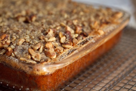 The Ivory Hut: Browned Butter Banana Streusel Cake (Gluten-free!)