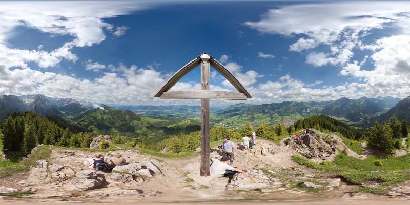 Imberger Horn Gipfelkreuz