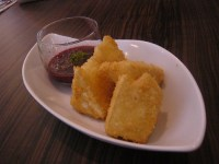 Deep Fried Camembert Cheese
