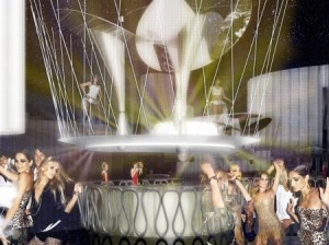Cavalli's club in Dubai