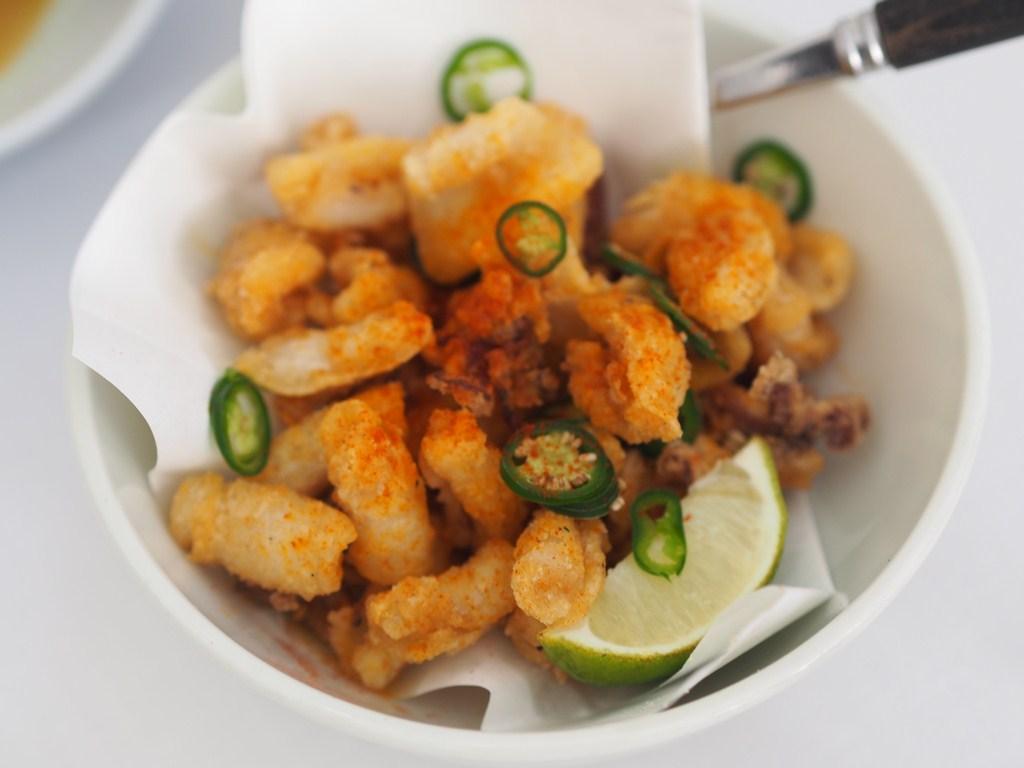 La Petite Maison Beirut Review fried calamari