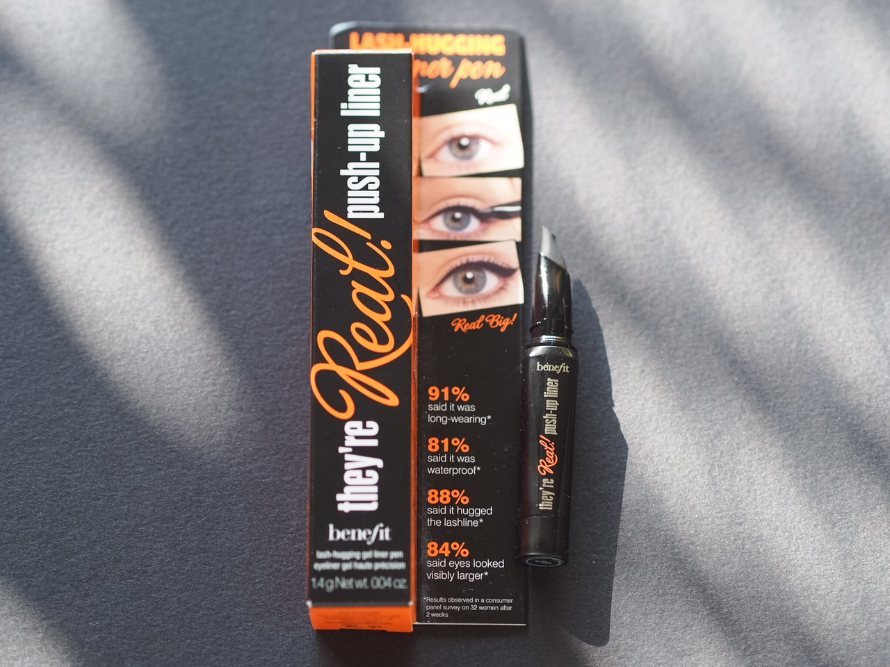 theyre real push up liner makeup review
