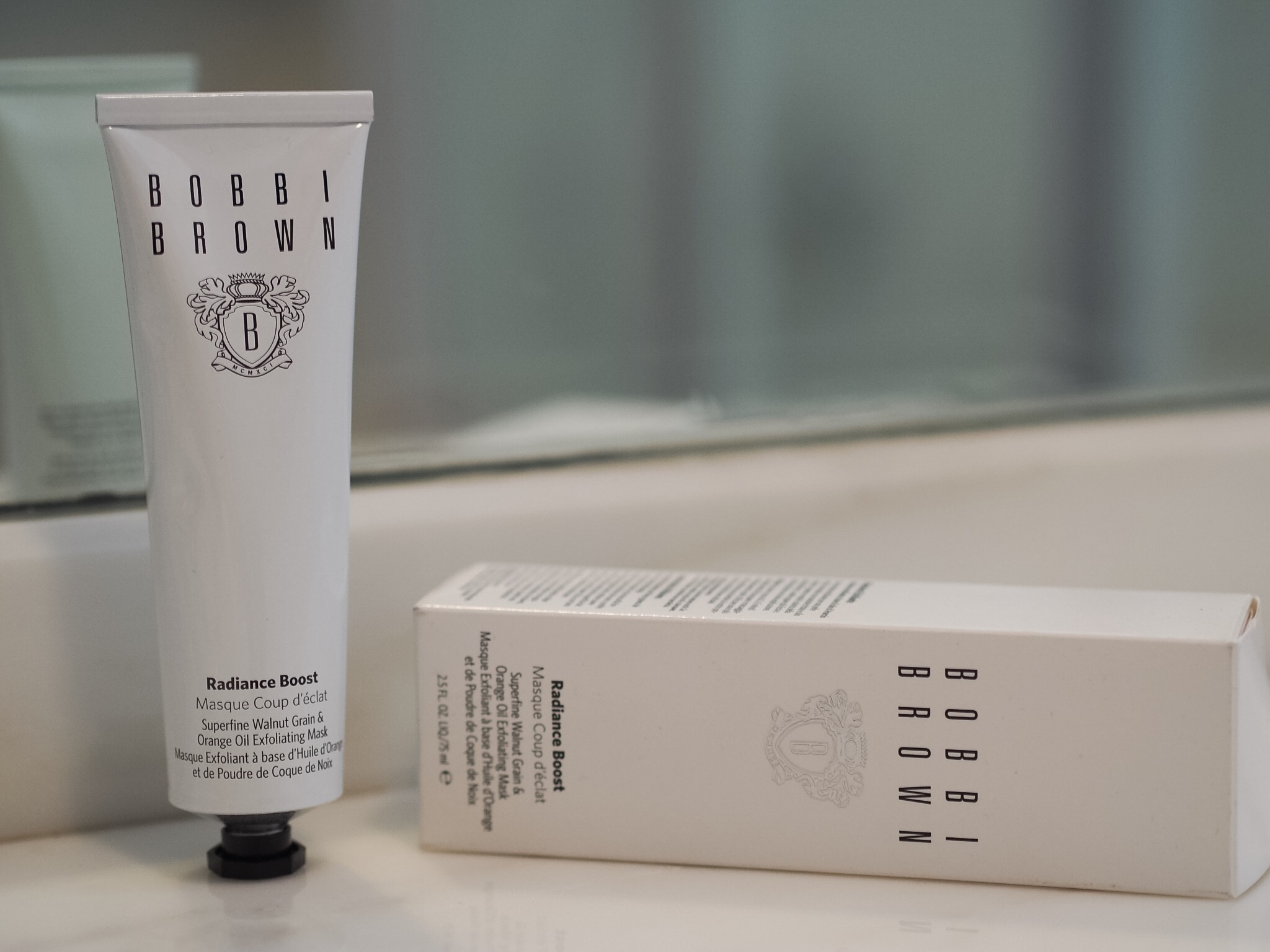 radiance boost review Bobbi brown face mask review