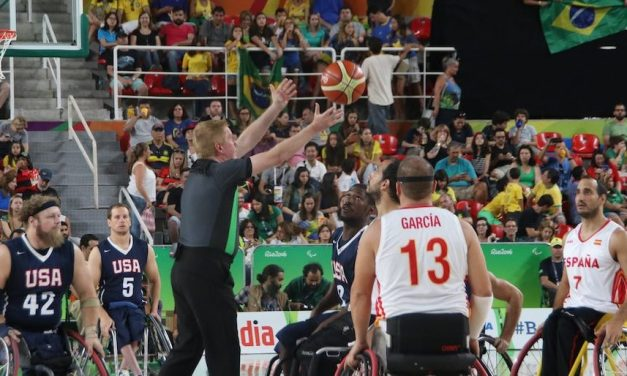 Australian referee Matt Wells takes time to reflect on final Paralympics