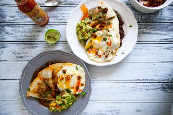 Chorizo Quesadilla Huevos Rancheros | I Will Not Eat Oysters
