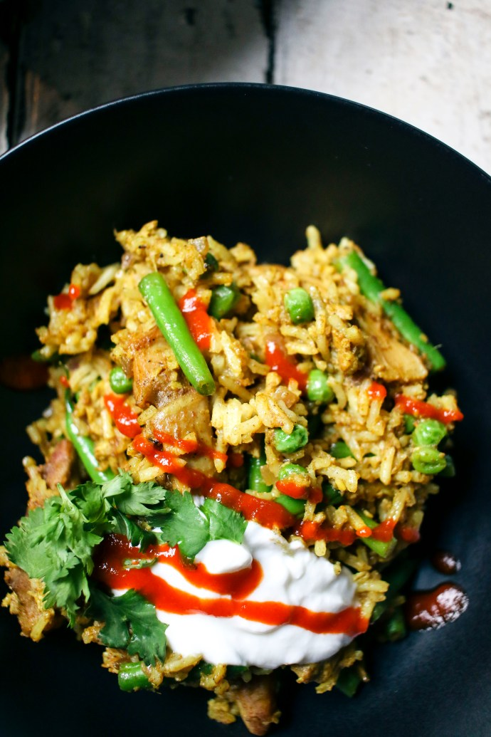 Easy & Fast Chicken Curry Fried Rice | I Will Not Eat Oysters