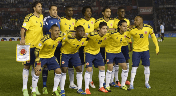 Colombia's National Soccer Team 2013