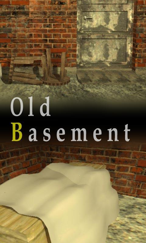 脱出ゲーム old basement-地下倉庫からの脱出-画像1