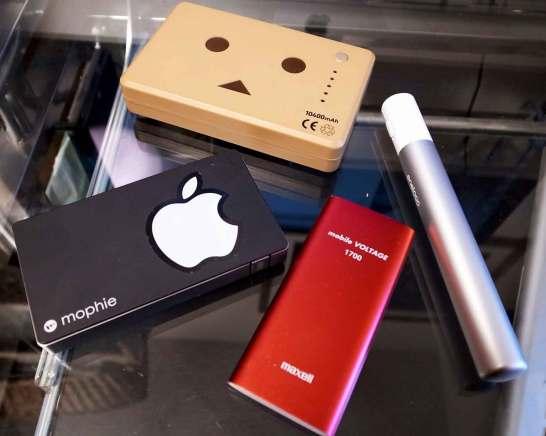 モバイルバッテリー各種