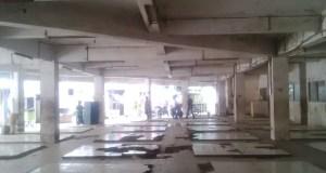 Lokasi untuk relokasi PKL di Pasar Kosambi. (jabartoday/avila dwiputra)