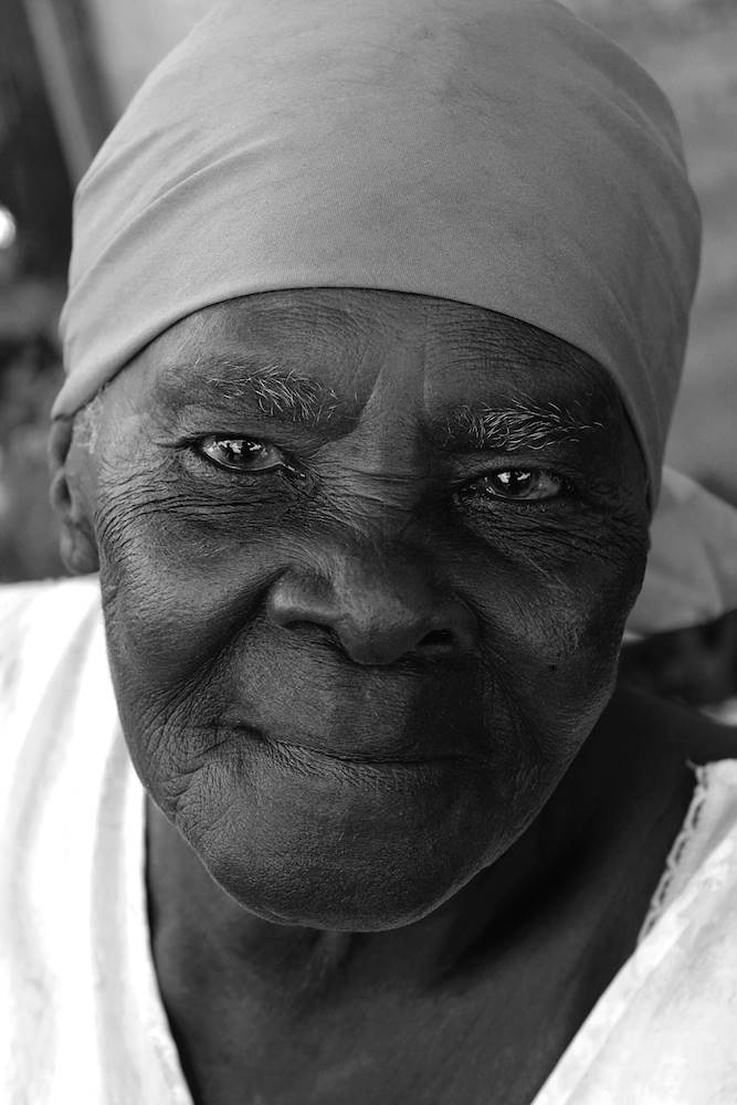 Old jamaican woman