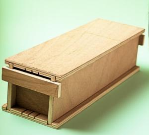 Foto molde de madera