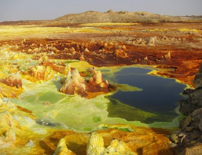 The colorful Dallol, Danakil
