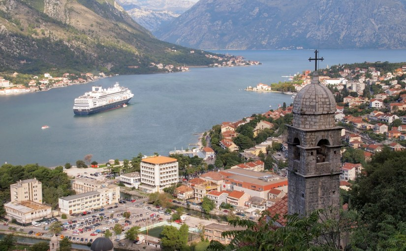 High Above The Bay of Kotor