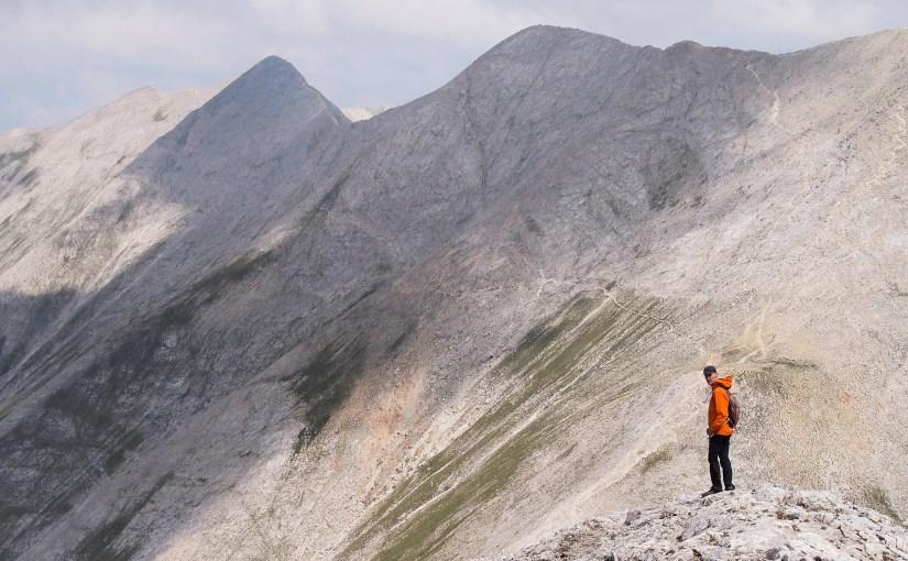 Summiting Mt. Vihren and Koncheto Ridge.
