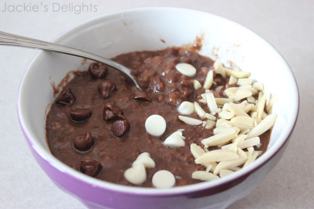 chocolate banana oatmeal.5