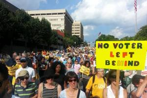 Winston-Salem March for Voting Rights 2015