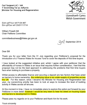 Sargeant letter