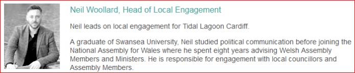 Neil Woollard Tidal Lagoon