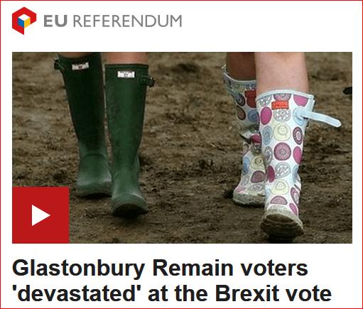 Brexit Glasto