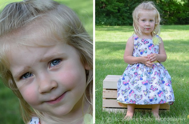 professional outdoor children's portraits