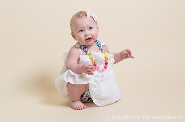 one year portraits in Ham Lake photography studio