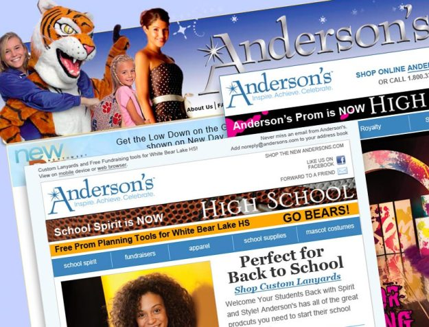 Anderson's Website & Email