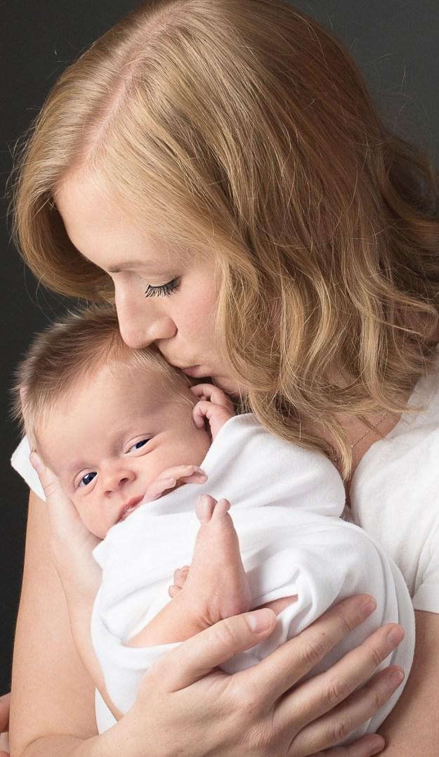 Mom and Baby Newborn Photography, Ham Lake Studio