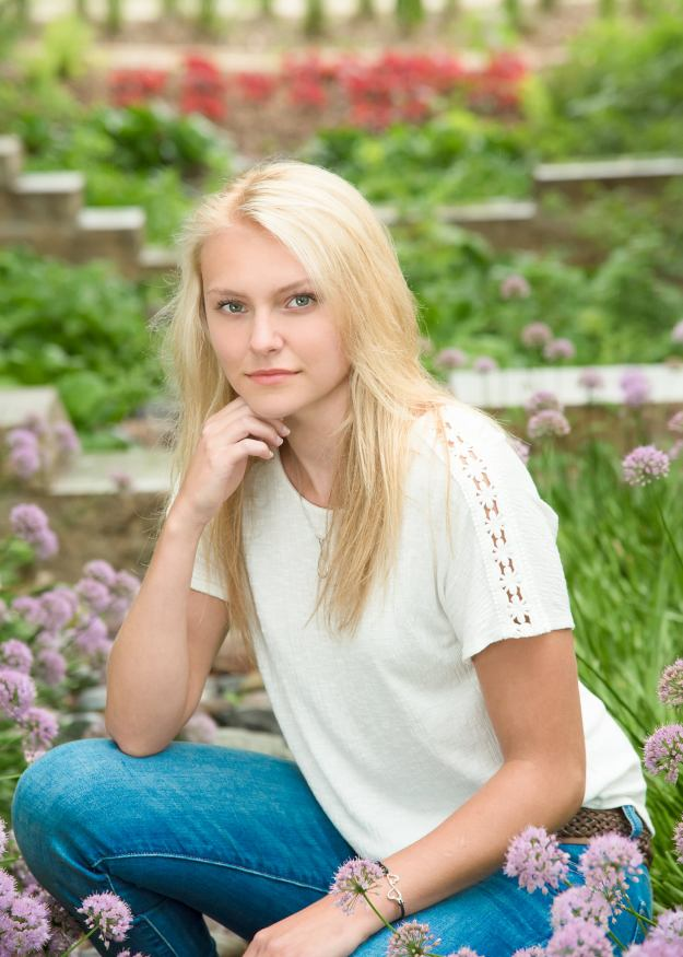 High School Senior Photography Session in Anoka
