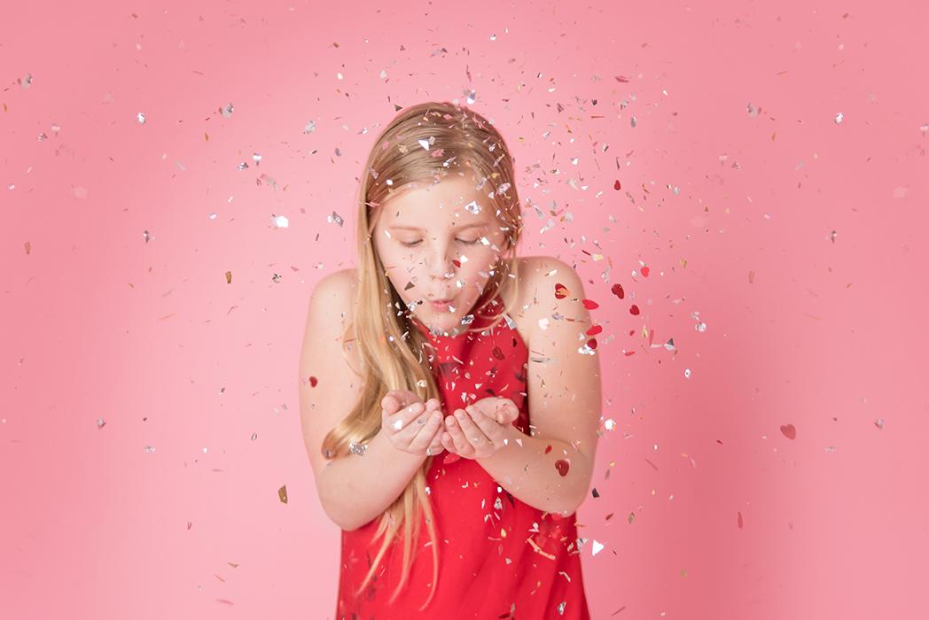 Glitter Valentine's Day Session Ham Lake Photography Studio