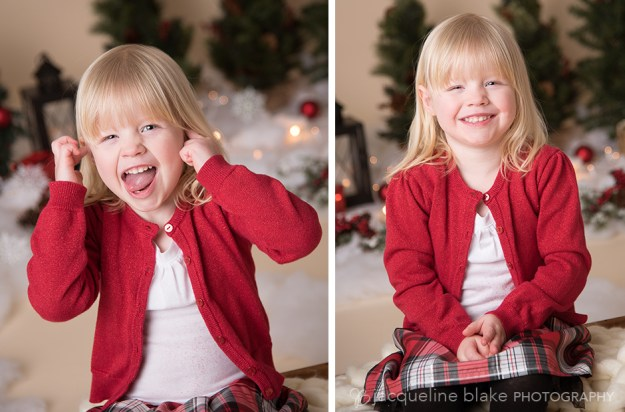 Christmas session at Ham Lake photography studio