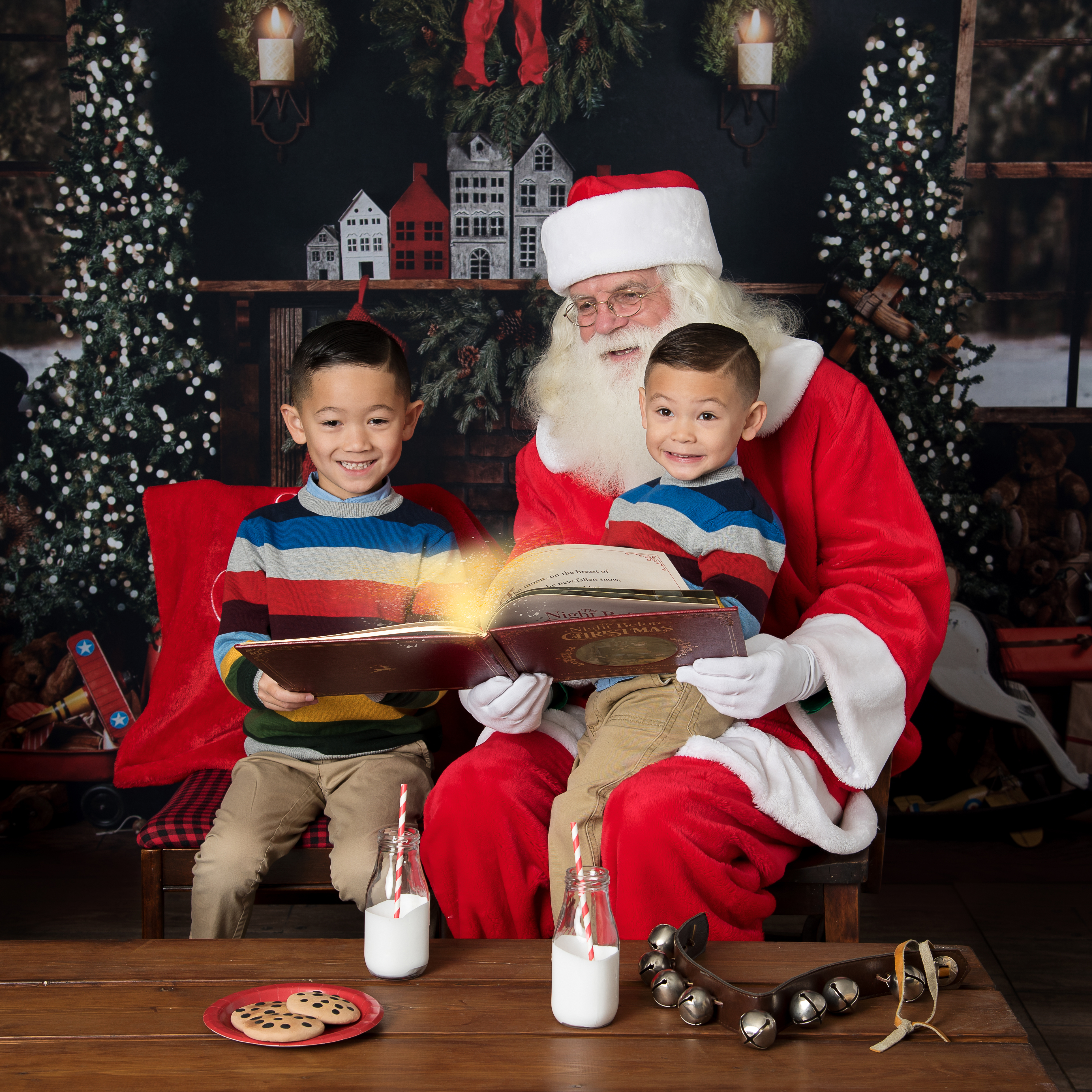 Santa Pictures in Ham Lake