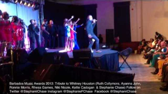 Barbados Music Awards 2013 Tribute to Whitney Houston